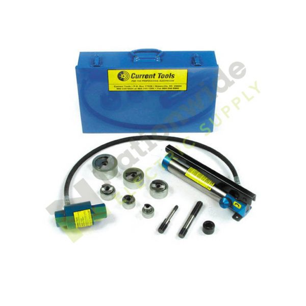 Nationwide Electric Current Tools 161SS Piece Maker Hydraulic Knockout Set