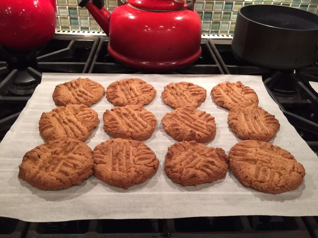 Nationwide Electric Supply Peanut Butter Cookies for Richmond Animal League Fundraiser