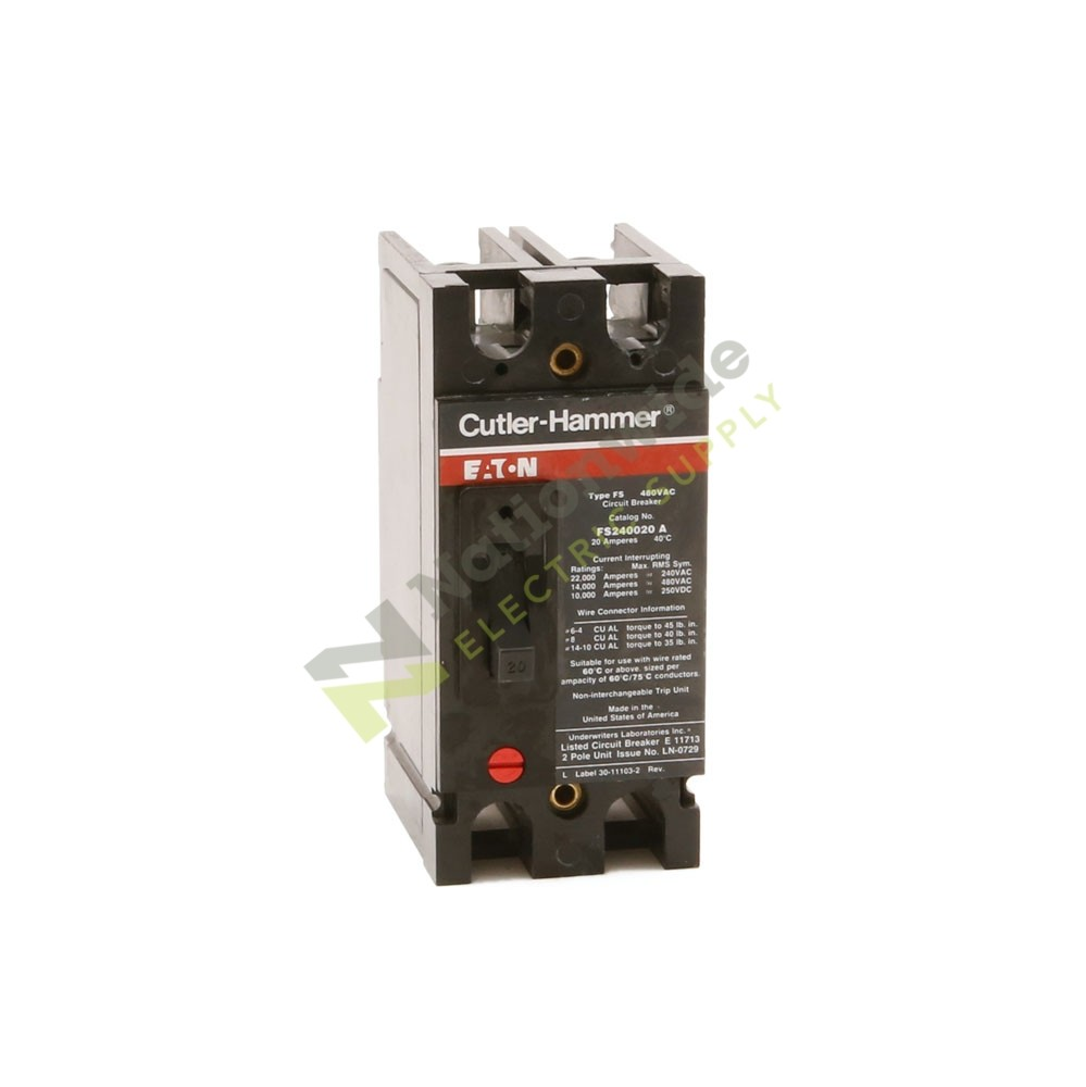 Thomas Betts Fs240020a Nationwide Electric Supply Circuit Breaker Identification Labels Cutler Hammer