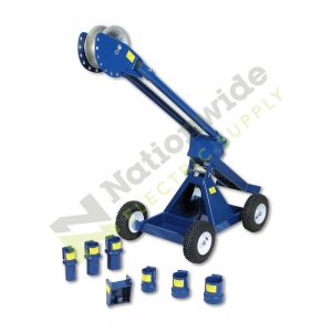 Nationwide Electric Current Tools 8085 mantis mobile cable pulling carriage with 1 boom section