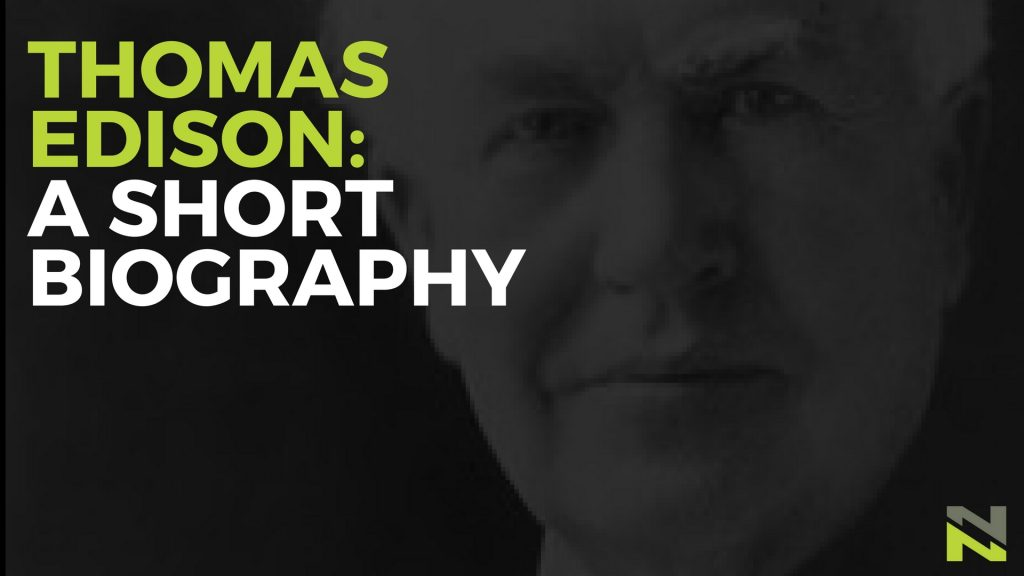 thomas edison short biography