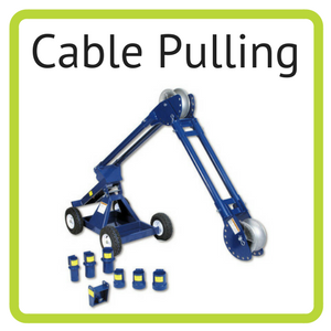Current Tools cable pulling tools available for rent at Nationwide Electric