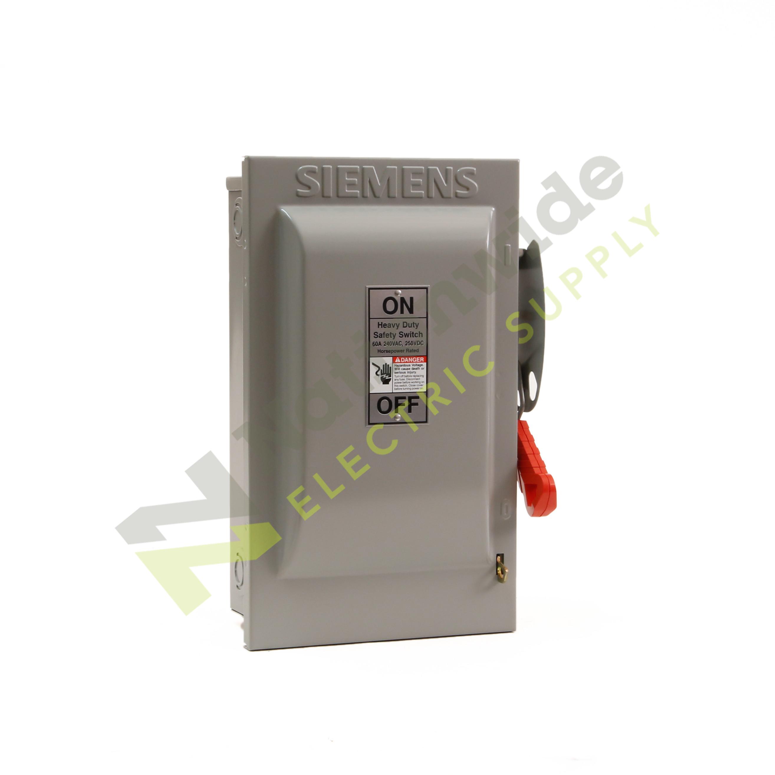 Siemens Disconnect Switches