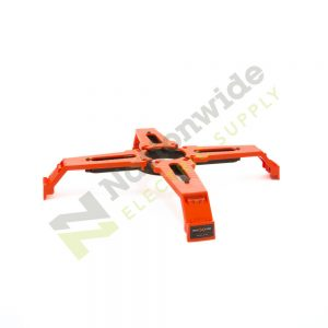 Nationwide Electric Supply Orange 24 inch Bolt Star